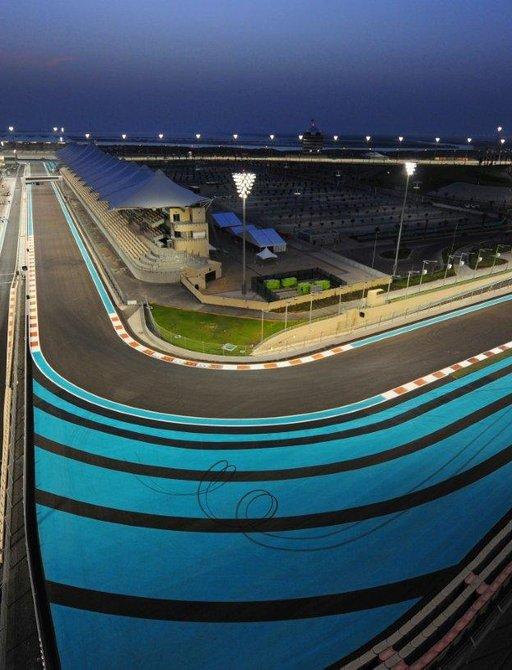 World-famous Yas Marina Circuit