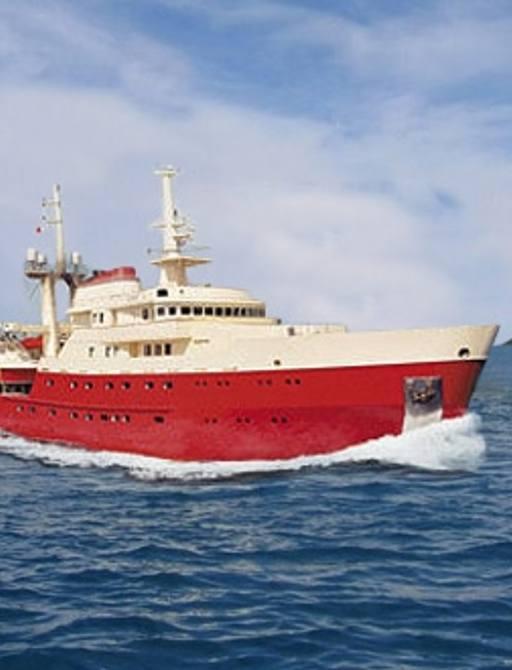 Explorer yacht LEGEND as she looks now