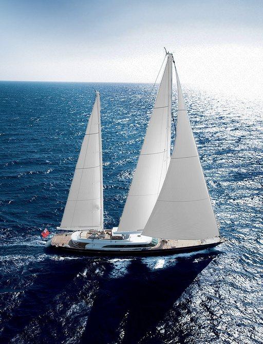 luxury yacht panthalassa underway