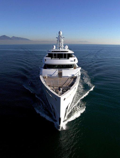 eco-friendly superyacht Grace E