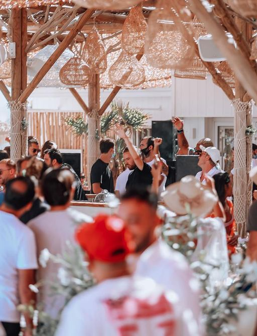 Shellona beach club ramatuelle