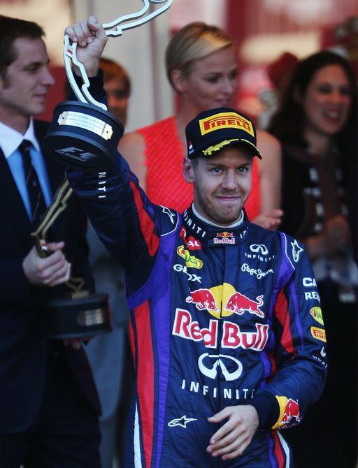 winner of the Monaco Grand Prix red bull team