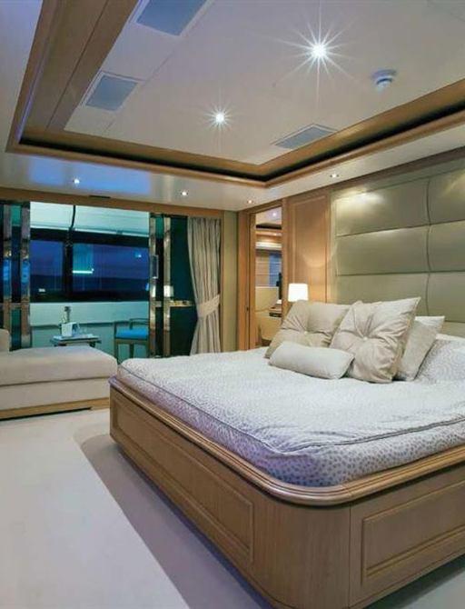 Superyacht HANA stateroom