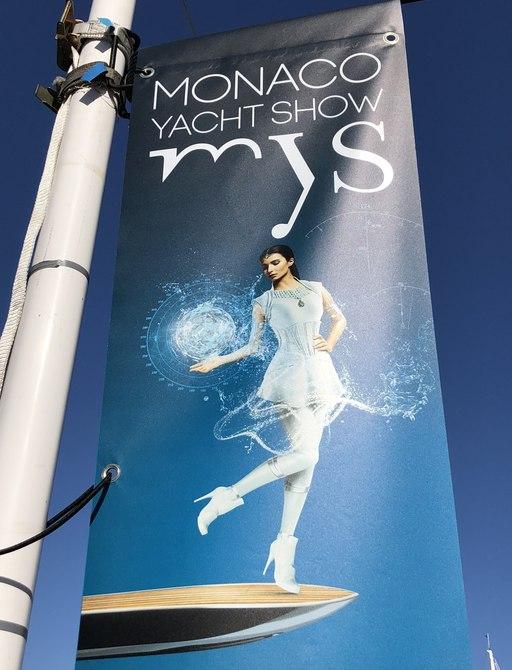 Live photos: Final preparations for the Monaco Yacht Show 2018 photo 1