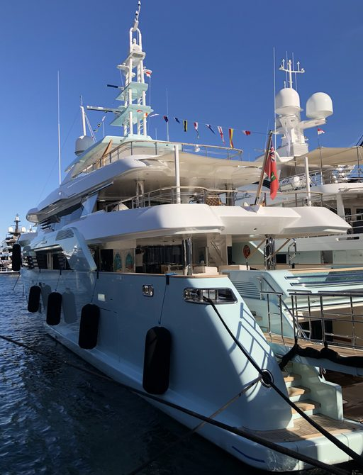Live photos: Final preparations for the Monaco Yacht Show 2018 photo 6