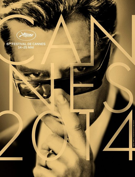 Flyer for the 2014 Cannes Film Festival