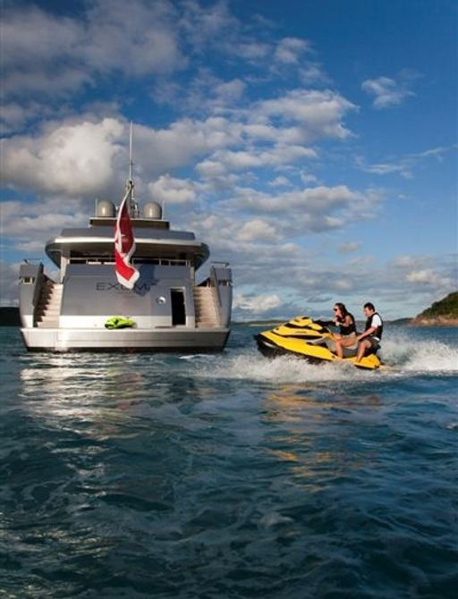 Expedition charter yacht EXUMA's extensive selection of toys