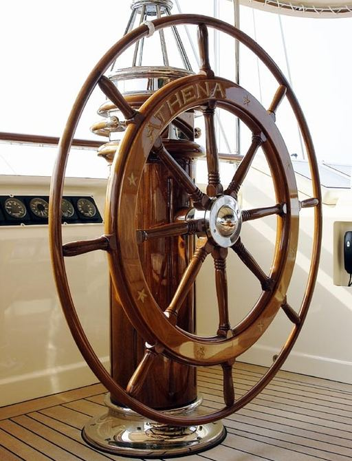 Classic wheel on board ATHENA