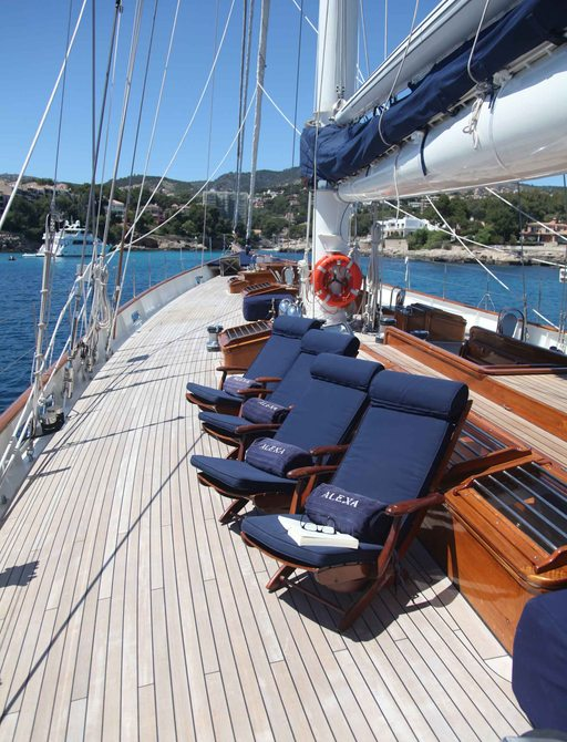 Sailing Yacht Alexa Open In Spain For Summer Charter Vacations photo 1