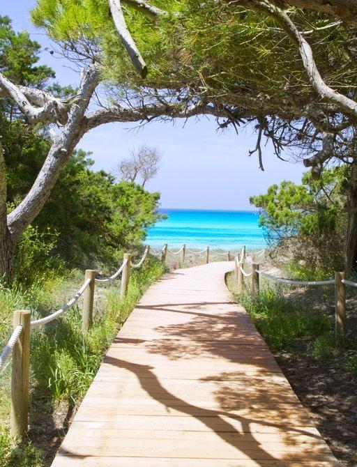 Els Pujols beach