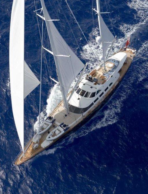 Sailing Yacht ANTARA Undergoing Refit Ahead of Summer Charter Season photo 2