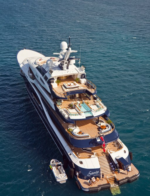 Luxury Yacht SOLANDGE Available in the Caribbean this Winter Season photo 1