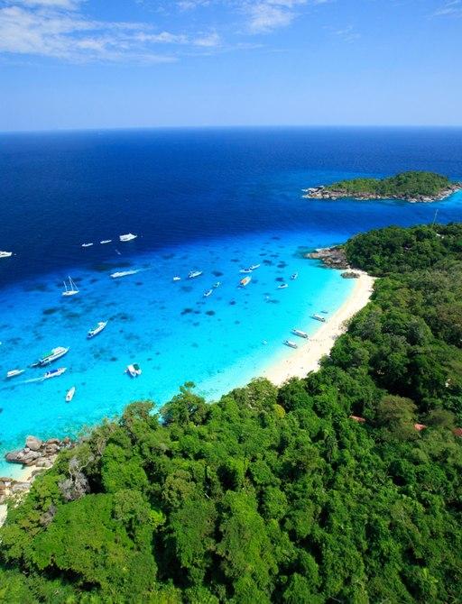 Similan islands sea