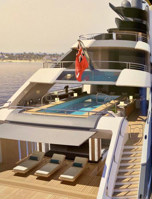 cosmos yacht aft decks