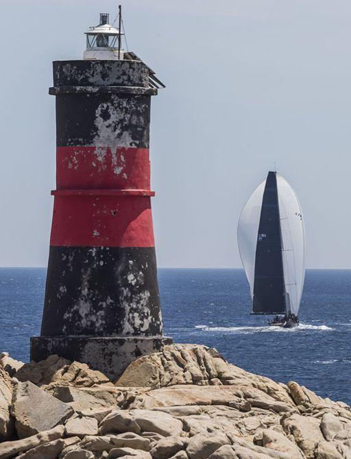 yachts compete in the LORO PIANA SUPERYACHT REGATTA in Sardinia