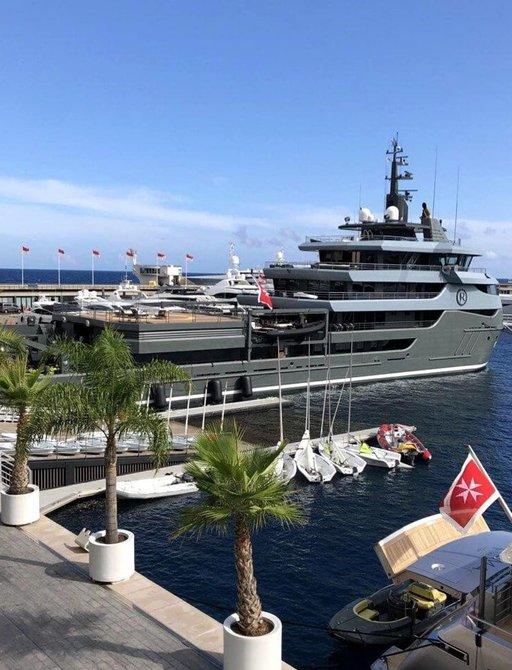 Explorer yacht RAGNAR receives prestigious fire brigade salute at Monaco Yacht Club photo 4