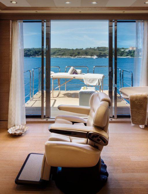 lady jorgia massage room and hairdressing salon