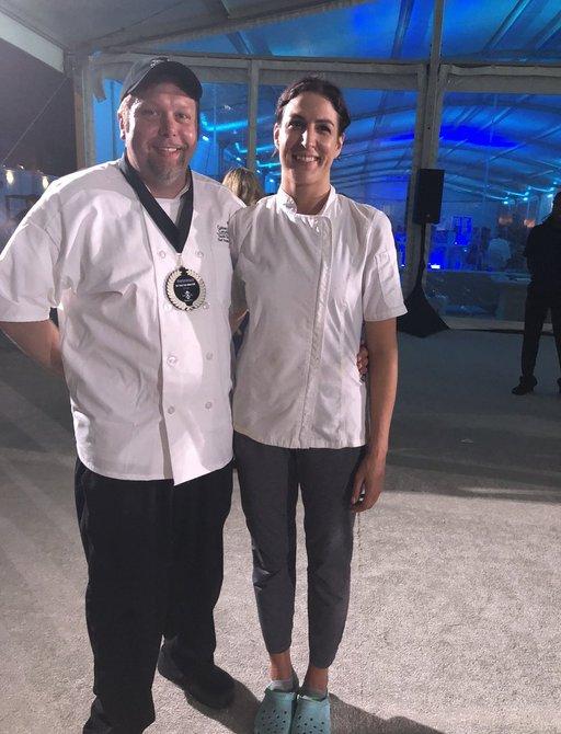 Winners of Best Yacht Chef Award at FLIBS 2018