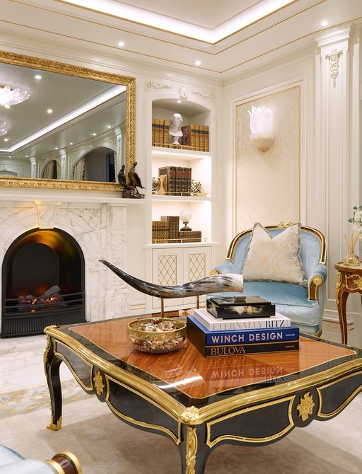 Superyacht TIS coffee table and books