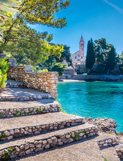 Ancient Dominican monastery in Croatia