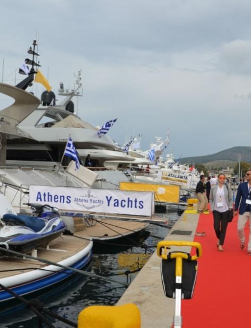 Athens Yachts banner at MEDYS 2014