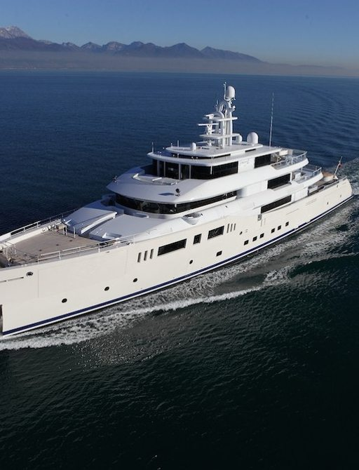 Expedition yacht GRACE E