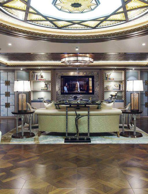 SOLANDGE superyacht interior details