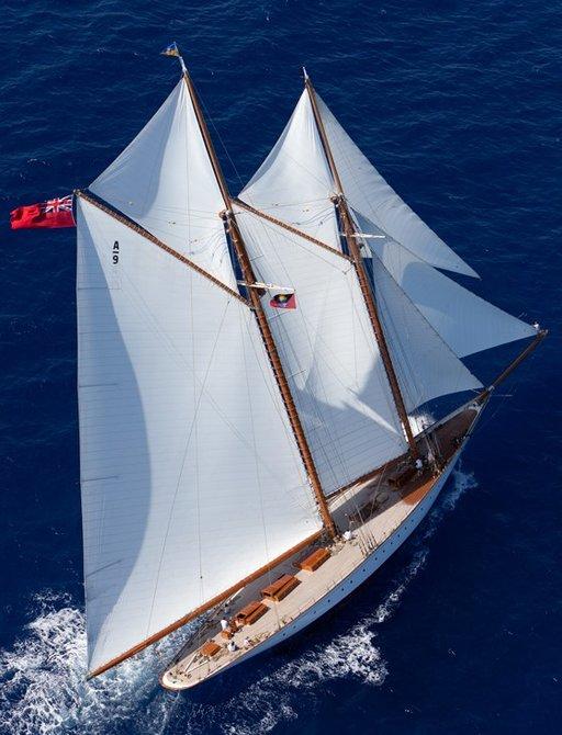 sailing yacht ELENA will compete at Les Voiles de Saint-Tropez 2017
