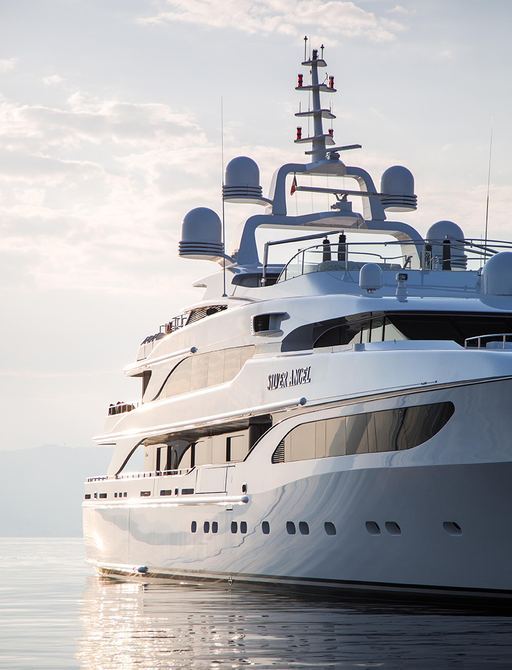 luxury yacht Silver Angel makes her return to the Mediterranean for the summer charter season 2017