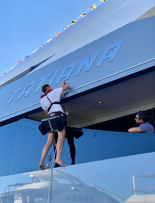Live photos: Final preparations for Monaco Yacht Show 2021  photo 3
