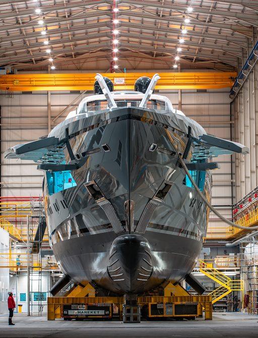 Bilgin launches largest Turkish-built superyacht: 80m TATIANA  photo 2