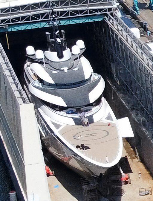 Exclusive: Launch of new Lürssen 115m superyacht 'Project ENZO' photo 3