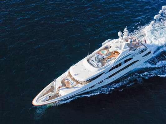 Latitude Yacht Aerial View