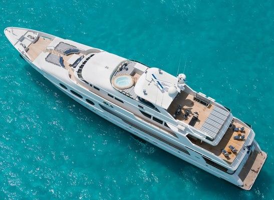 Lady Joy Yacht Overhead