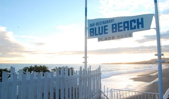 Spend the day at Blue Beach