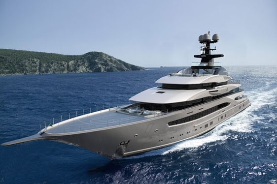 Lürssen Superyacht 'Kismet II' Launched