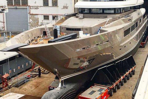 Tankoa prepared to launch brand new 72m superyacht SOLO