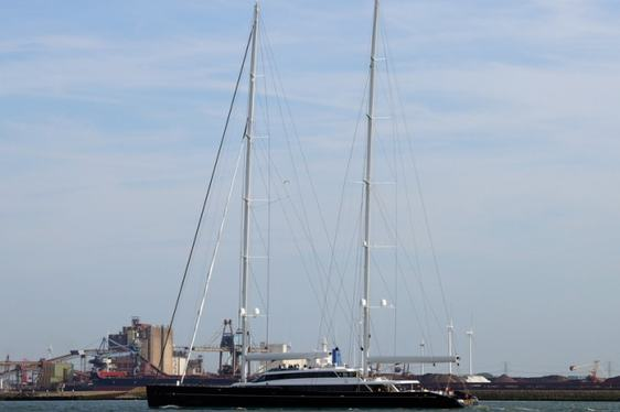 Oceanco's First Sailing Yacht AQUIJO Completes First Sea Trials