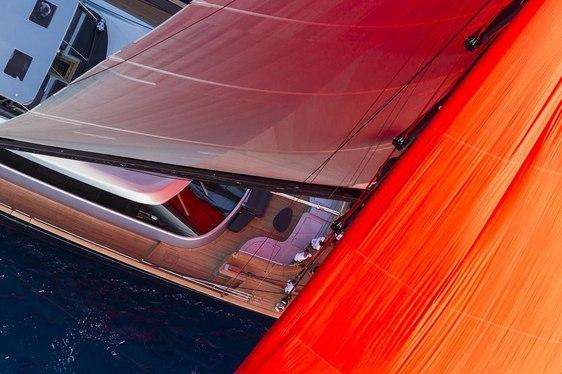 60m Perini Navi Yacht Seahawk Sails