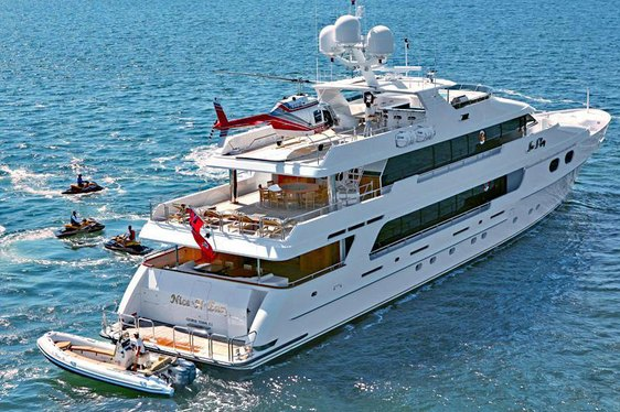 Charter Yacht TOP FIVE at anchor in Florida