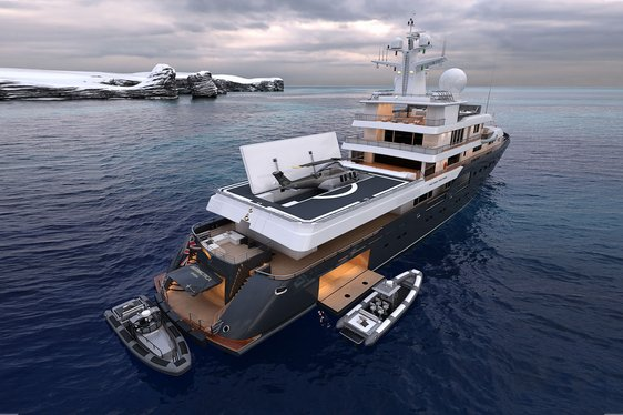Brand new 'go-anywhere' 73m expedition yacht 'Planet Nine' to open for charter in May