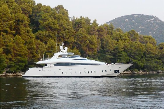 Luxury Yacht 'Tuscan Sun' Joins the Croatian Charter Market
