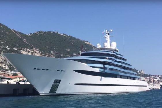Video: 110m Oceanco Superyacht JUBILEE Arrives In The Mediterranean