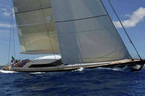 Charter yacht State of Grace under sail
