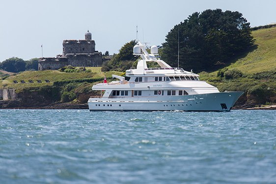 Feadship Charter Yacht CONSTANCE Completes Major Refit