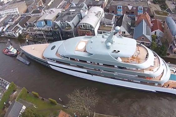 VIDEO: A Closer Look at Feadship's Hybrid Charter Yacht SAVANNAH