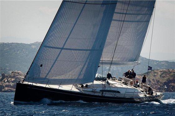 CAPE ARROW sailing in the Caribbean