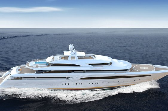 85m Superyacht O'PTASIA To Be Delivered In May And Open For Summer Charters