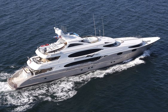 Luxury Motor Yacht 'DESTINATION FOX HARB'R TOO' to Charter as 'MUSTANG SALLY'