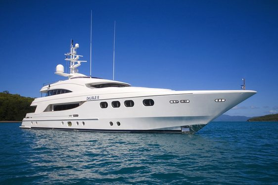 Charter Yacht DE LISLE III Now Taking Enquiries for the Great Barrier Reef and North Queensland